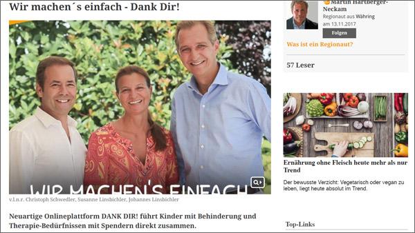 Medienecho: meinbezirk.at