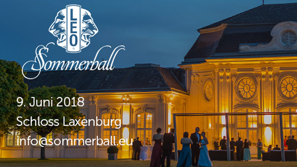 Leo Sommerball im Schloss Laxenburg