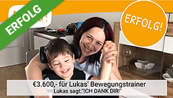 Erfolg für Lukas