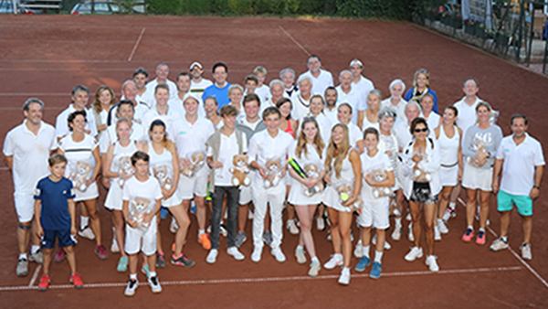 Der CTP Tennisclub unterstützt DANK DIR
