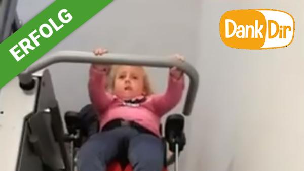 Ein Treppenlift für Angelin
