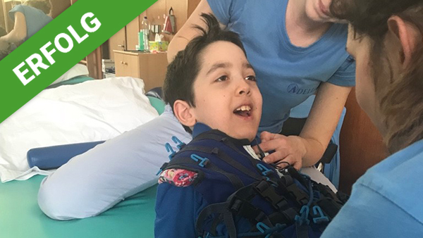 Spendenerfolg für Samuels Therapie