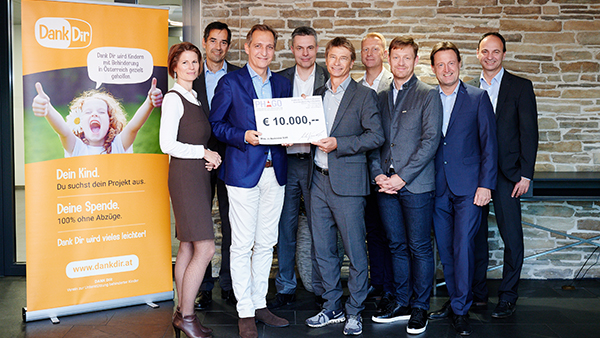 PHAGO spendet erneut €10.000 an Dank Dir!