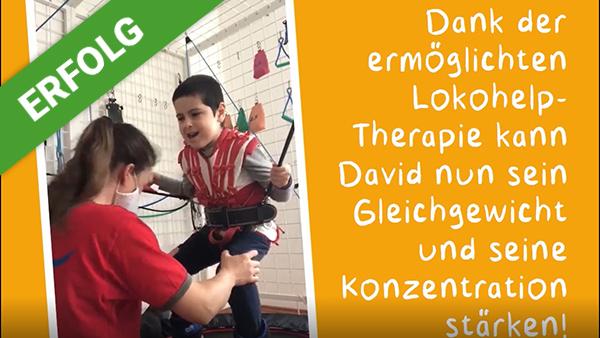 Dank Dir wurden für David € 3.718 gesammelt.
