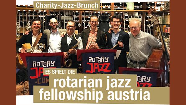 Rotary Jazz-Brunch zu Gunsten von Dank Dir!